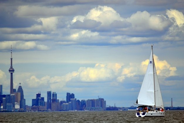 Toronto and Sailboat