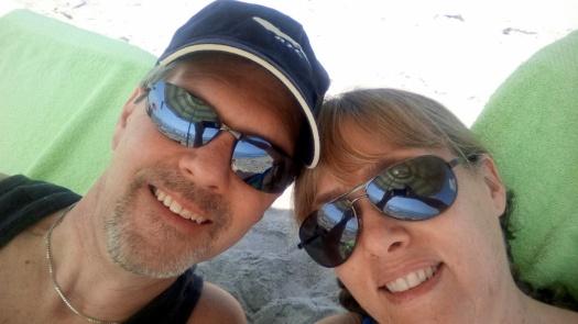 us on the beach.bmp