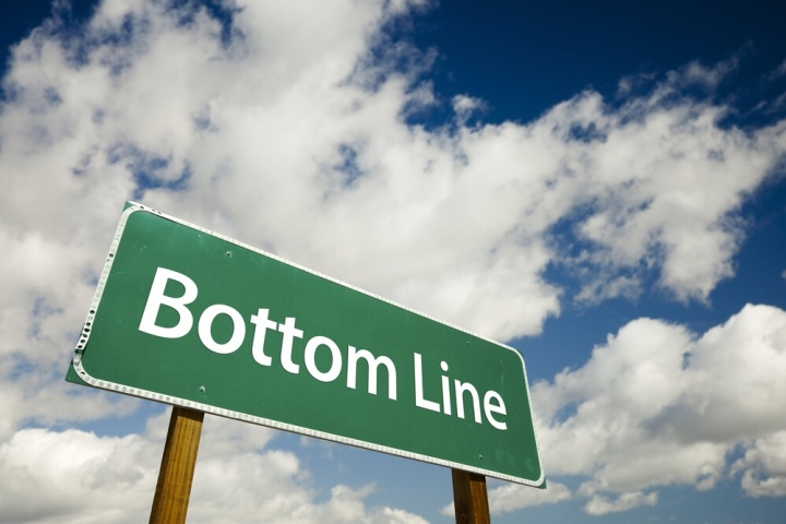 The real bottom line – students